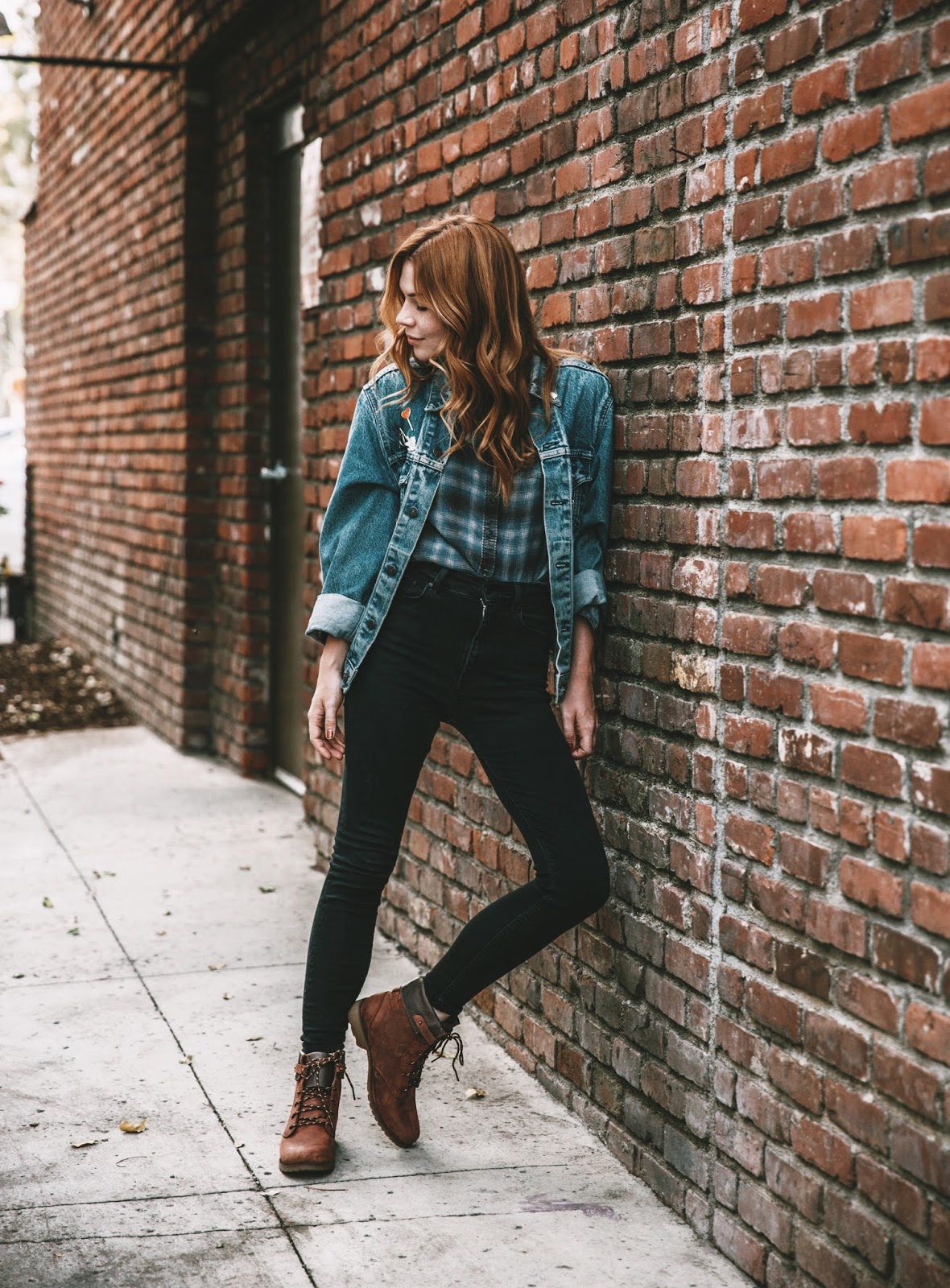 46ae96eeb6dc02 The De La Vina Lace Boots were definitely my favorite to style. I put them  together as part of a street style look that could easily work for a  mountain ...